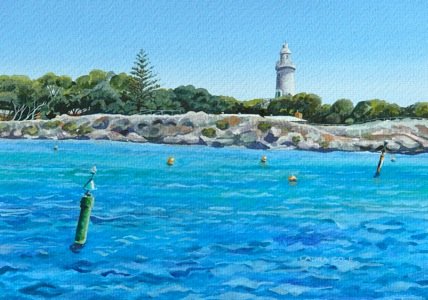 Bathurst Lighthouse, Green Marker