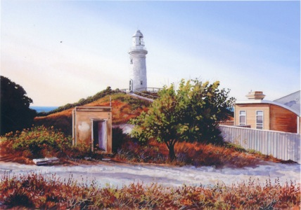 Lighthouse Keepers' Backyard
